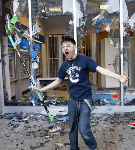 Vancouver rioter